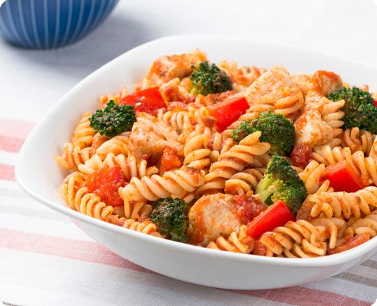 Gluten Free Fusilli with Chicken and Broccoli