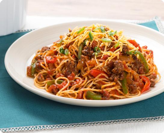 Southwest Tomato Spaghettini
