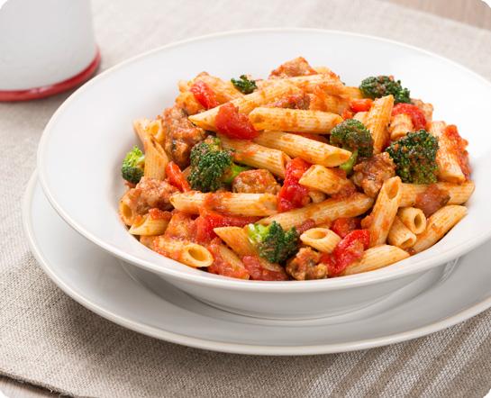 Sausage & Broccoli Penne